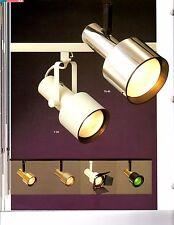 TROY Track Light System TS35 TS45 Black Bronze Chrome White PB NEW Continental