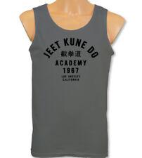 Jeet Kune Do Academy Mens Martial Arts Vest Bruce Lee MMA Gym Training Top