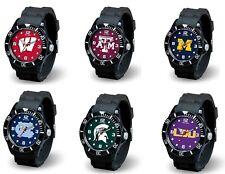 d4d2ddccd0a NCAA Team Men s Black Sparo Spirit Watch   Pick Your Team