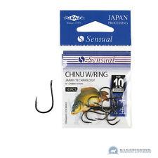 Mikado sensual Chinu/karpfenhaken con öhr, anzuelos lotes, carp Hooks, ganchos