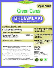 ORGANIC CHANCA PIEDRA (PHYLLANTHUS NIRURI) POWDER 100% PURE FROM INDIA