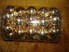 GLASS BALL ORNAMENTS 30MM 40CT
