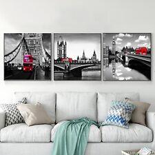 London Black And White Art Photo Print Canvas Poster Vintage Decor No Frame A294