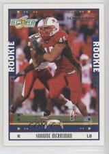 2005 Score Scorecard 342 Shawne Merriman San Diego Chargers Rookie Football Card