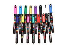 Uni Posca Pintura Marcador Bolígrafos PC-1MR - Todos Los Colores-Conjunto de 12 por color