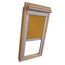 Sichtschutzrollo Schiene Dachfensterrollo für Velux GGU/GPU/GHU - ocker
