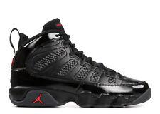 "Grade School Youth Size Nike Air Jordan Retro 9 ""Bred's"" 302359 014 Black/Red"