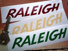 Raleigh Stile di testo a forma di adesivi. ciclomotore CHOPPER ecc.
