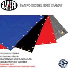 JAYEFO PRO 20 FT BOXING RING CANVAS SUPER HEAVY DUTY MMA WWE KARATE JUDO TKD