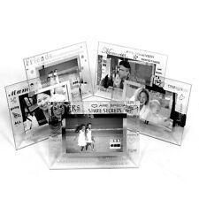 Moments Name Frames 6 x 4 Glass Sliver Design Word Art, BRAND NEW, Family Words