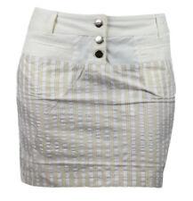 CUSTO BARCELONA Women's Kougra Vectex Striped Skirt 293635 $207 NWT