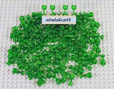 LEGO - Trans-Green Goblets - Glass Wine Beer Drink Food Trans Green Bulk Lot