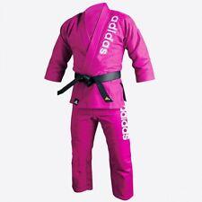 adidas Jiu-Jitsu Pink BJJ Double Weave Training Kimono Gi - JJ800