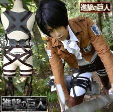 Anime Attack On Titan SNK Cosplay Costume Jacket Belt Hat Skirt Poster US CJ1