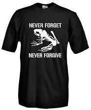 T-shirt Navy Seals J816 Maglietta Forze Speciali Maglia Skeleton Never Forget