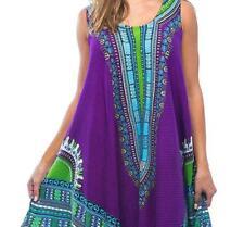 NEW RIVIERA SUN Women Regular & PLUS DASHIKI Dress~Beach Cover up