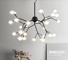 American LED Glass Ball chandelier Dining room Lobby bedroom pendant light lamp