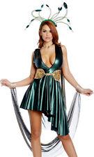 Forplay Sexy More Than A Myth Medusa Metallic Green Dress Costume