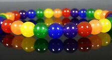 Colourful Rainbow Bracelet GAY PRIDE Festival Friendship