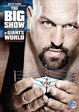 The Big Show - A Giant's World wrestling wwf ecw roh tna wcw taker hogan sting