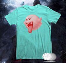 New Nintendo Boo Men's Super Mario Bros Big Boo's Haunt T-Shirt