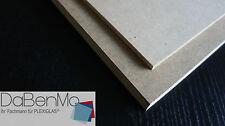 MDF (roh braun) Platten/Zuschnitte, Dicke 8mm, 10mm, Länge & Breite wählbar