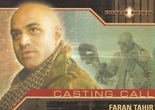 Iron Man CC5 Casting Call card.