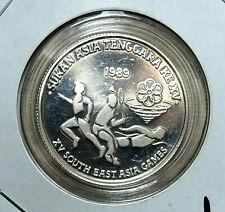 Rm15 Malaysia SEA 1989 XV games (proof coin)