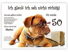 tierisch lustige Einladungen zum Geburtstag mit Wunschtext 30 40 50 60 originell