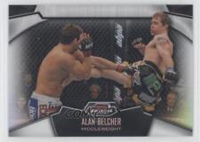 2012 Topps UFC Finest Refractors #92 Alan Belcher MMA Card