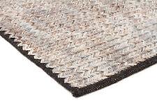 MILLERS 734 BEIGE WOOL FLATWEAVE RUG 3 sizes Modern Floor Mat FREE DELIVERY*