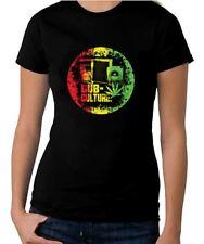Dub Culture Reggae Women's T-shirt - Bob Marley Rasta Festival
