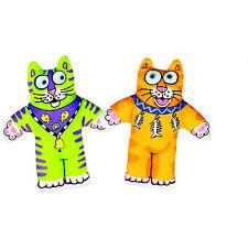 FATCAT Classic Gattino Piccolo Erba Gatta giocattolo molto divertente giocattolo per gatti in colori vivaci