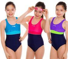Mädchen einteiliger Badeanzug Schwimmanzug EMILY Aqua-Speed
