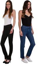 Ex M&S Sculpt 360 Contour Jeans Women Ladies Straight Leg Stretch Denim Size UK