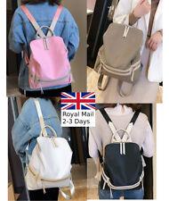 Quality Ladies Women Nylon Backpack Bag Rucksack Handbag College Satchel