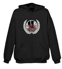 SKINHEAD DOCS HOODIE - Ska Punk Hardcore Mod Clothing T-Shirt