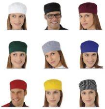 Cappello Cameriere Gelateria Panificio Bar Alimentari Bianco Rosso Giallo Verde
