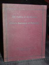 1902 The Calling of the Christian & Christ's Sacrament of Fellowship, Worship