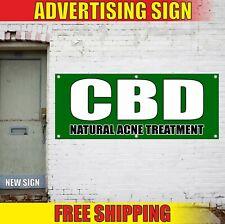 Cbd Banner Advertising Vinyl Sign Flag sold here edibles Natural Acne Treatment