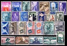 ITALIA Repubblica Annata 1951 a scelta tra tutti i valori annullati perfetti!