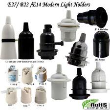 3x E27 /B22 /E14 Light Bulb Lamp Holder Pendant Edison Screw Cap Socket Vintage