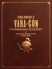 FINAL FANTASY XI 11 Vana con Anniversary 11.11.11 DVD Orchestra Concert NEW