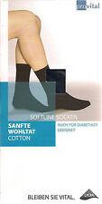 SOFTLINE - SANFTE WOHLTAT Socken, Diabetiker-geeignet, Baumwollmix, div. Fb.+Gr.