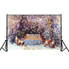 US Newborn Baby Photo Props Tree Swing Fairy Family Lights Photography Backdrop
