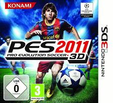 NUR MODUL Pro Evolution Soccer PES 2011 3D für Nintendo 3DS 2DS / XL M