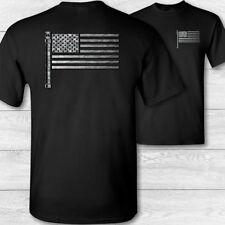 Sprinkler fitter American Flag T-shirt camo US Flag Sprinkler fitter tee shirt