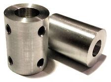 8x10mm Solid Coupler ideal for 3D printer, Reprap CNC, Rigid Coupling 8mm - 10mm
