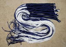 10 tie your own sets - 100% Cotton Jewish TZITZIT - Each set makes 4 TSITSIT
