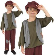enfants garçons PAUVRE Costume Victorien enfants Hérisson Costume SMIFFYS